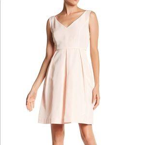 J. Crew Kami Classic Faille blush pink dress